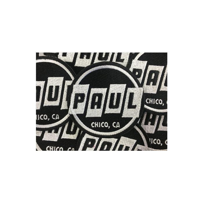 PAUL COMPONENT Round Logo Patch
