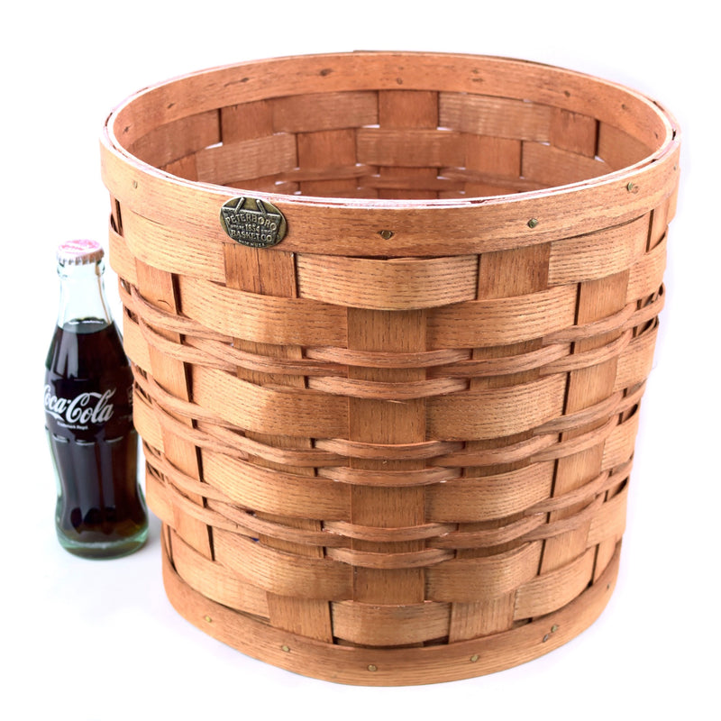 PETERBORO Round Waste Basket