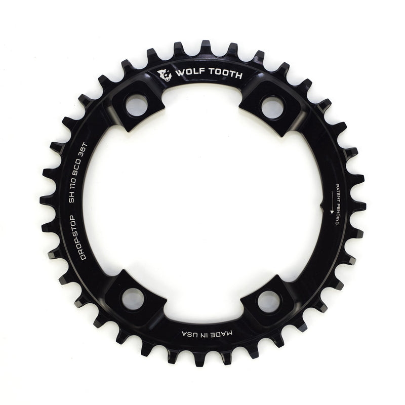WOLFTOOTH Drop Stop Chainring 4-Bolt CX