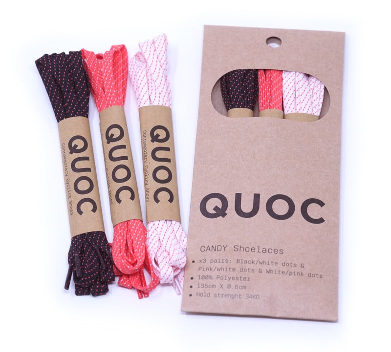 QUOCPHAM Candy Shoelace