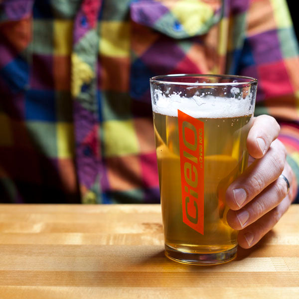 CHRIS KING Cielo Racer Pint Glass