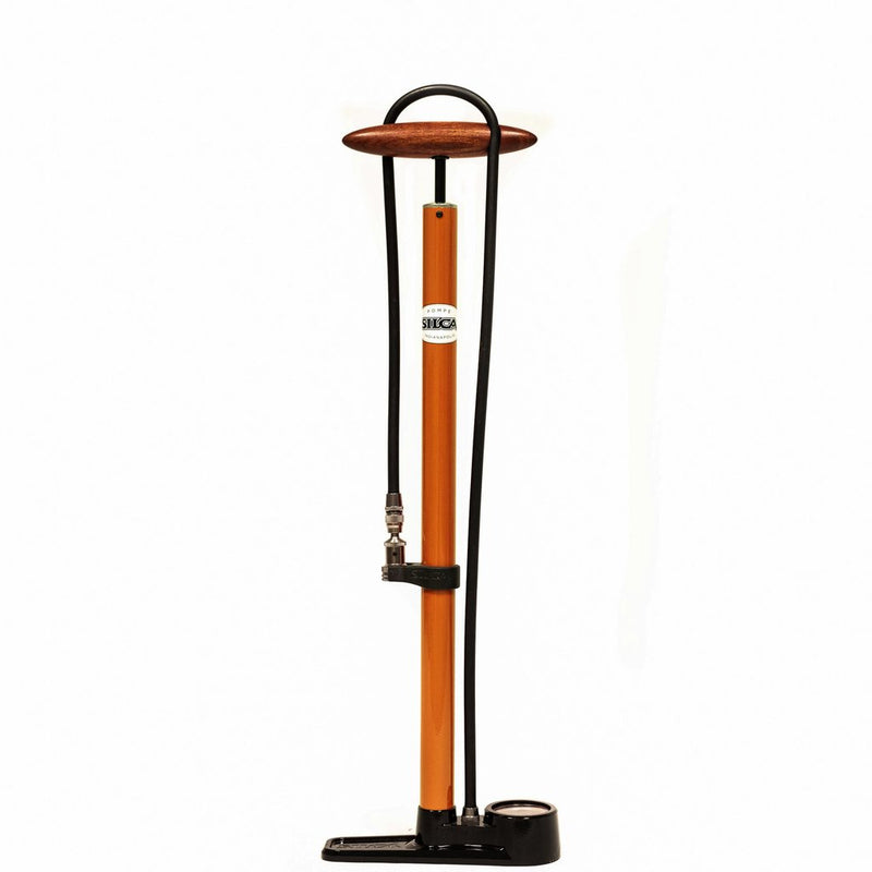 SILCA Pista Floor Pump - Orange