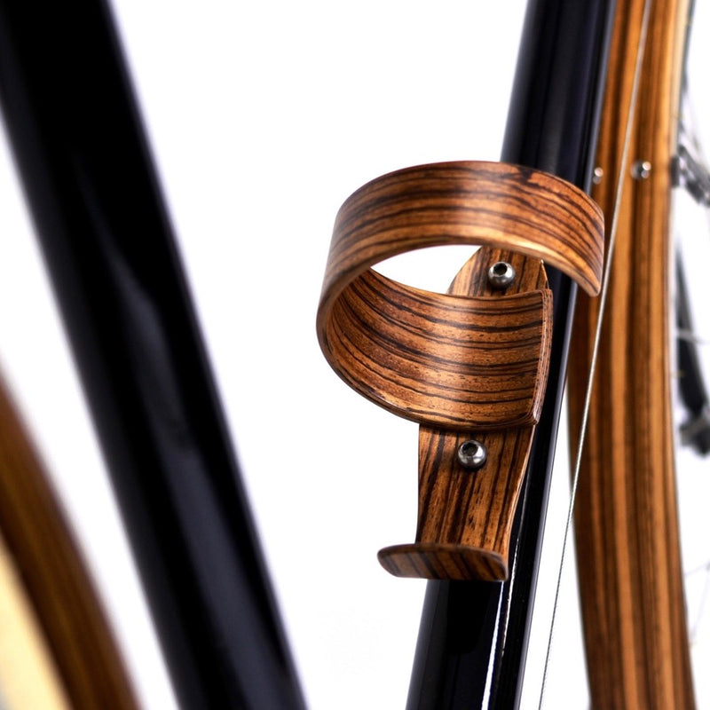 SYKES Wooden Water Bottle Cage