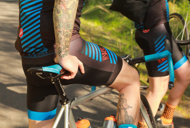 BREADWINNER CYCLES  Work Hard Ride Home Team Bib Short