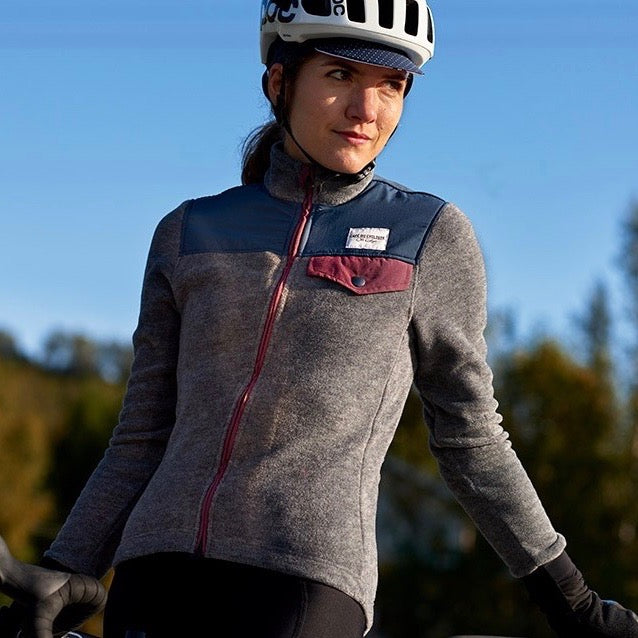 CAFE DU CYCLISTE W's Alphonsine Fleece Jersey