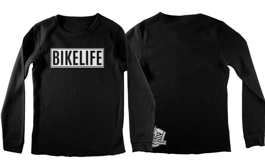 THERMAL - BIKE LIFE (WHITE PRINT)