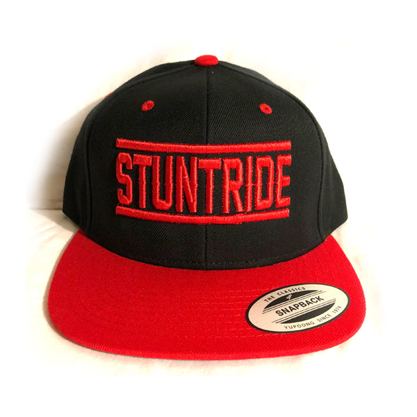 HAT - STUNTRIDE RED/BLACK