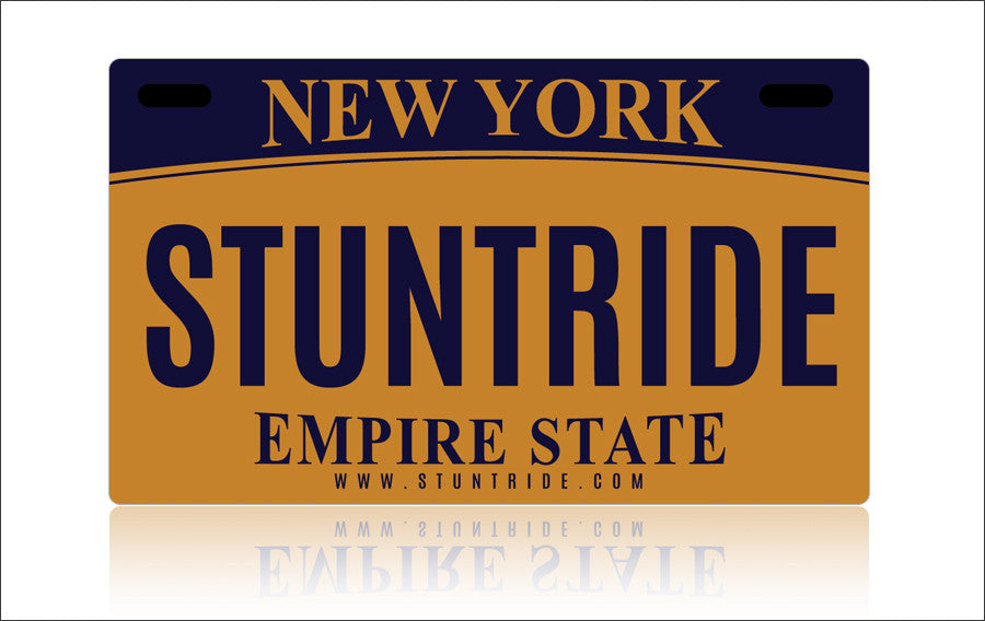 LICENSE PLATE - NEW YORK