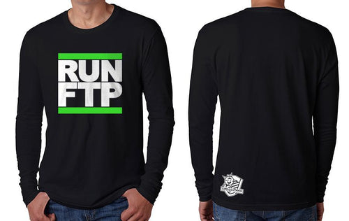 LONGSLEEVE - RUN FTP (GREEN PRINT)