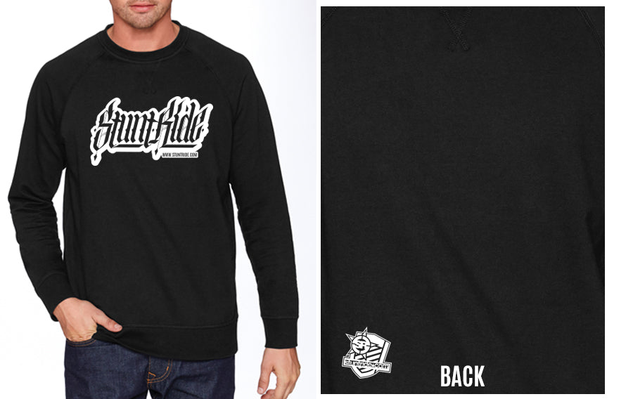 SWEATSHIRT - STUNTRIDE CALIGRAPHY