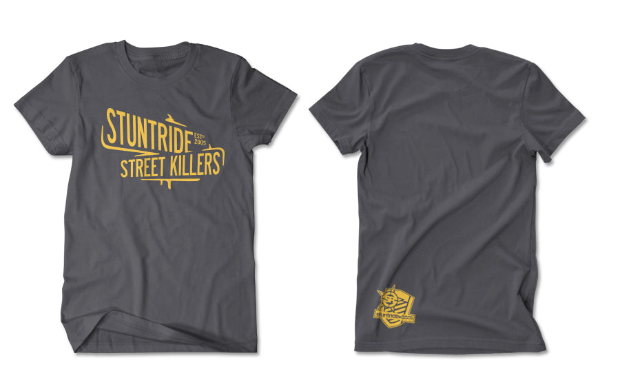 T-SHIRT-STREET KILLERS (GOLD PRINT)