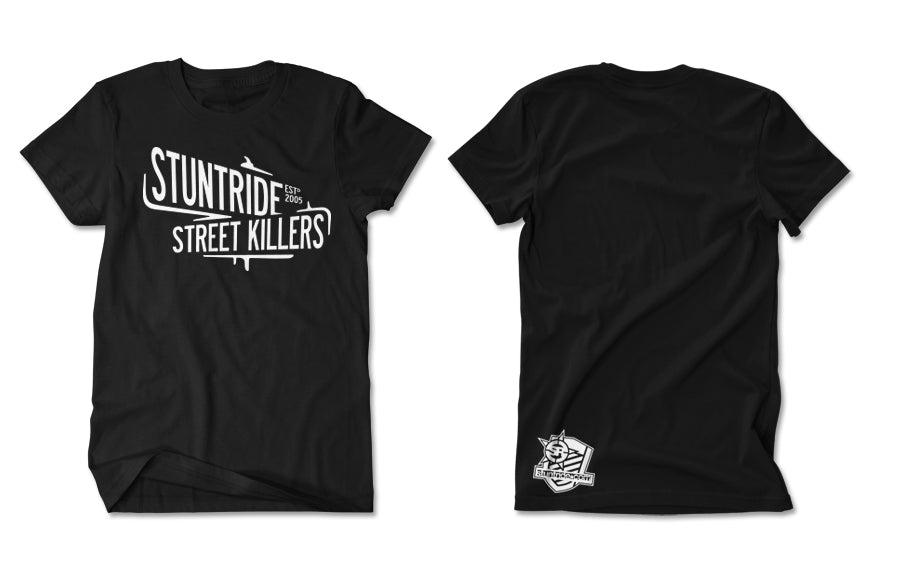 T-SHIRT-STREET KILLERS (WHITE PRINT)