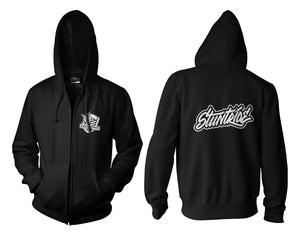 ZIP UP HOODIE - STUNTRIDE GRAFITTI