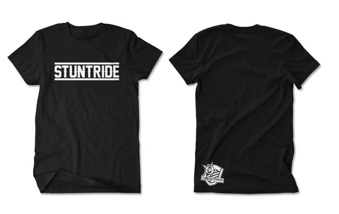 T-SHIRT-STUNTRIDE GRAFITTI (WHITE PRINT)