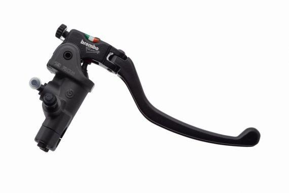 Brembo RCS19 Forged Brake Master Cylinder with Folding Standard Lever (for 1 inch bar)