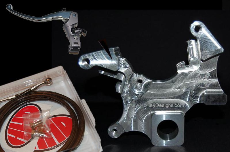 HHD 04-05 GSXR 600/750 Dual Caliper Bracket FULL PACKAGE - Tacticalmindz.com
