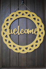 Welcome Decorative Circle