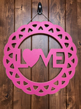 Love Decorative Circle