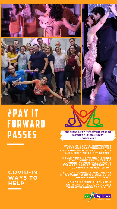 #PAY IT FORWARD PASS
