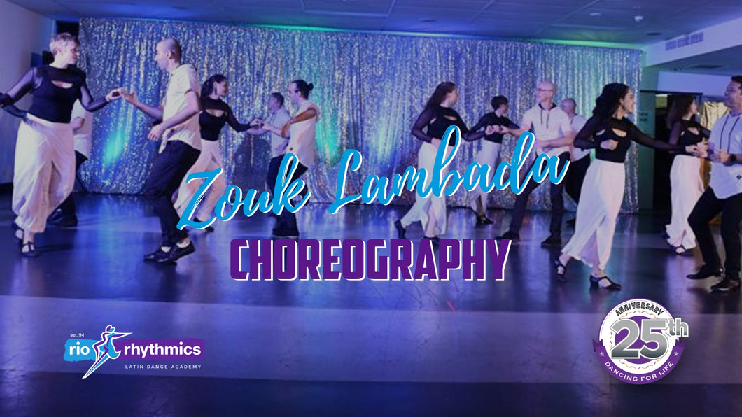 ZOUK LAMBADA CHOREOGRAPHY + PERFORMANCE | Saturdays at 4:30pm from 2 Feb