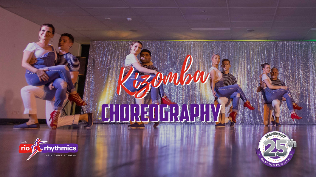 KIZOMBA CHOREOGRAPHY + PERFORMANCE | Sundays at 12.00pm from 3 Feb