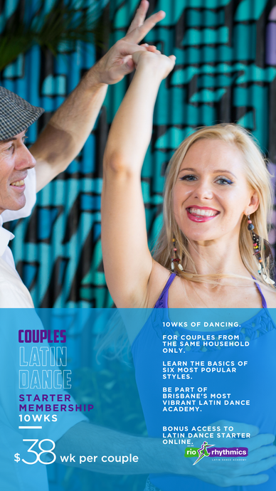 In-Studio Couples Latin Dance Starter | 10wks