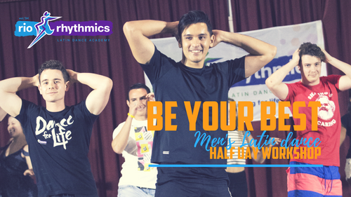 EVENT FINISHED | Men's Latin Dance Half-Day Workshop | Sat 8 Sept 10.30 - 1.45pm