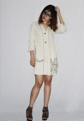 Short Jacket Dress For Girls