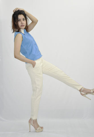 Ankle Length Trouser with crop top