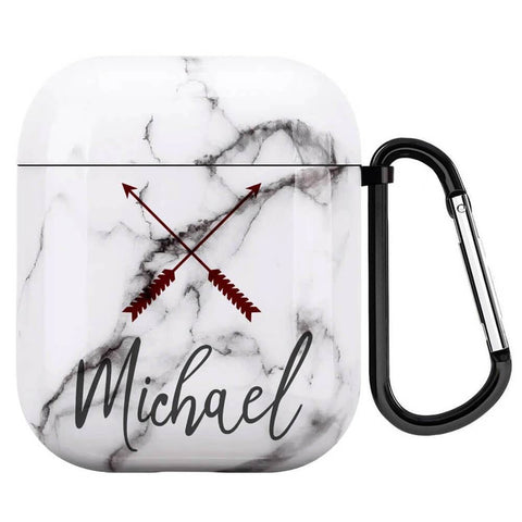 Custom Airpod Case Marble