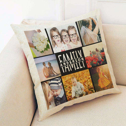 Custom Linen Pillow