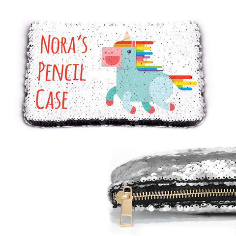 Custom Sequin Pencil Case