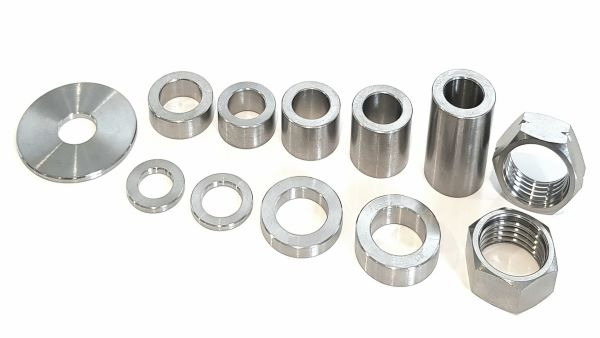 Spacers, Washers & Jam Nuts