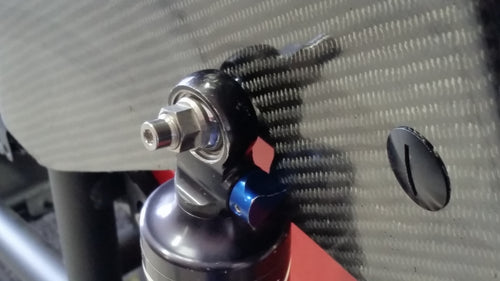 Threaded shock tower studs