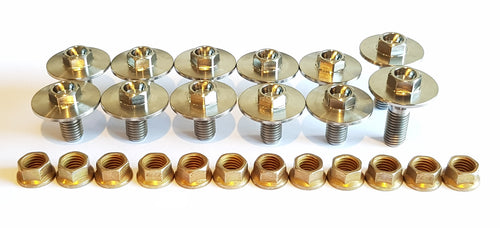 Floor Pan Kit With Large Flange