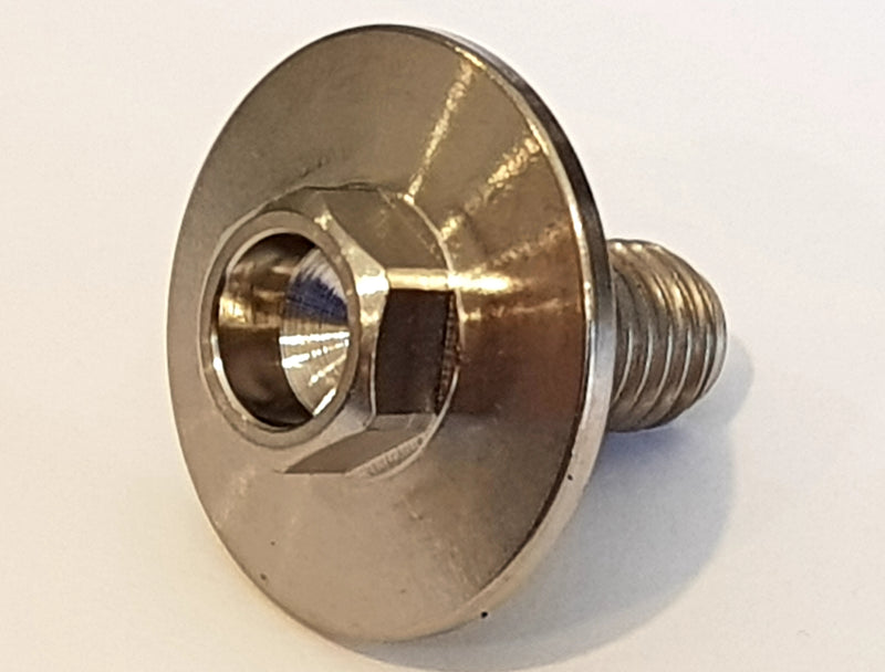 "1/4 unf. 500"" with large flange"