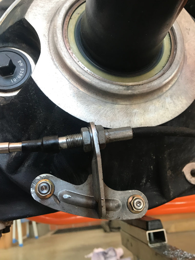 Rear End Shifter Bracket Kit