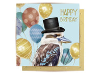 Greeting Card - Mr Kookaburra