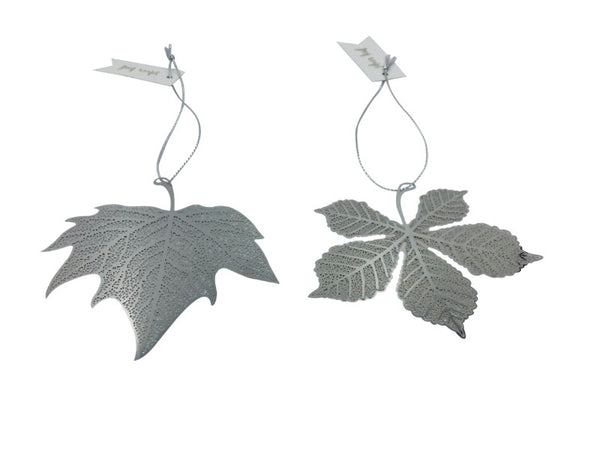 Leaf - Silver - Horse Chestnut, Maple