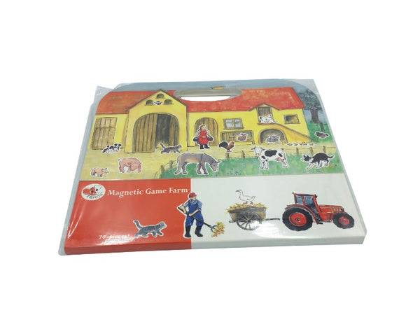 Magnetic Fold Out Game - Farm, Cars, Shopping, Jungle