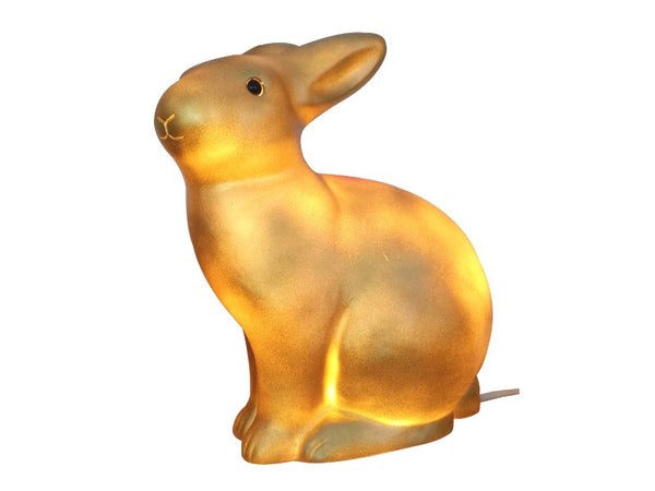 Night Light - Gold Rabbit