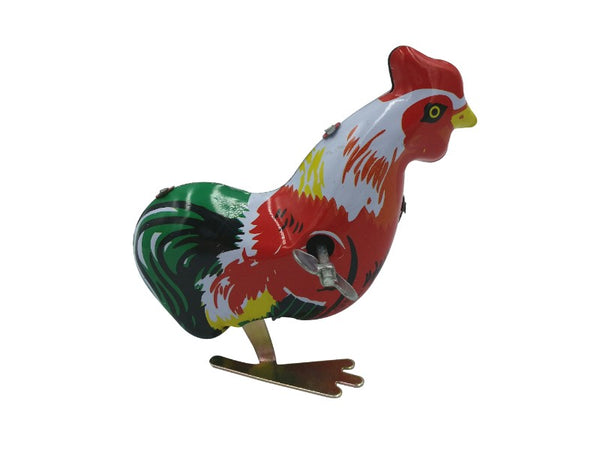 Tin Toy - Jumping Rooster