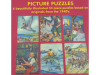 Puzzle - Jigsaw - Pinocchio - Set of 6