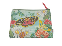 Purse  - Canvas - Koala Crown, Bugs & Roses