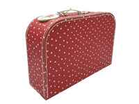 Carry Case - Red/White Spots - Medium, Large