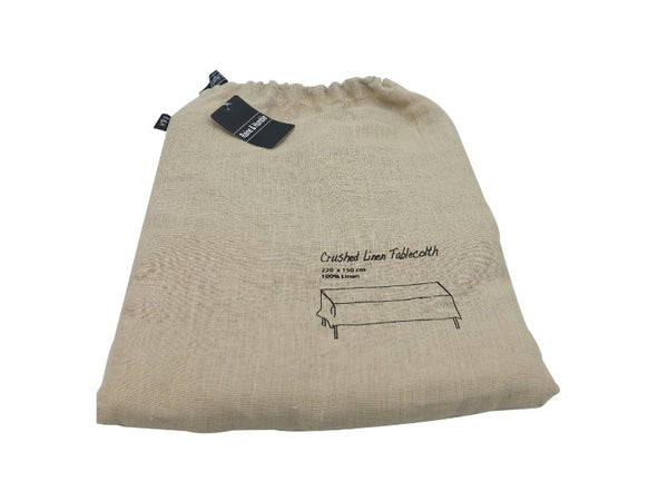 Tablecloth - Crushed Linen