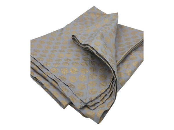 Tablecloth - Grey/Gold