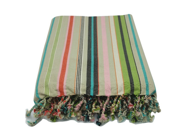 Tablecloth - Striped - Italian Garden, Citrus, Carnival