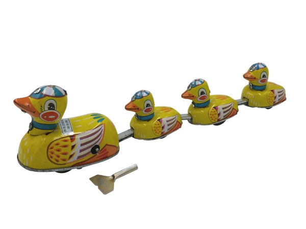 Tin Toy - Duck Family