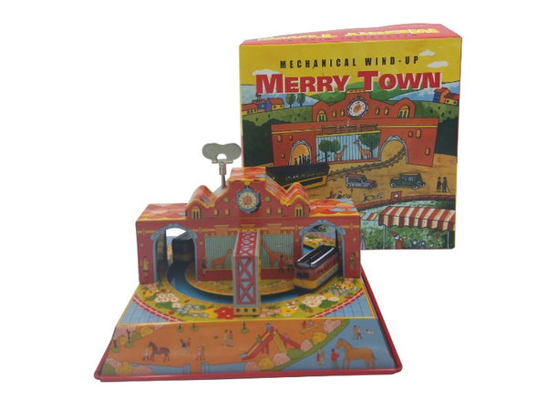 Tin Toy - Train, Merry Town
